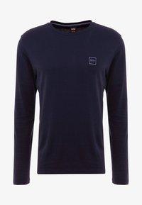 BOSS - TACKS - Long sleeved top - dark blue - 3