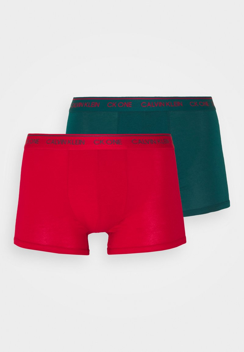 Calvin Klein Underwear - TRUNK 2 PACK - Pants - red