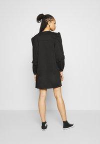 JDY - JDYENYA LIFE SHORT DRESS - Skjortekjole - black - 2