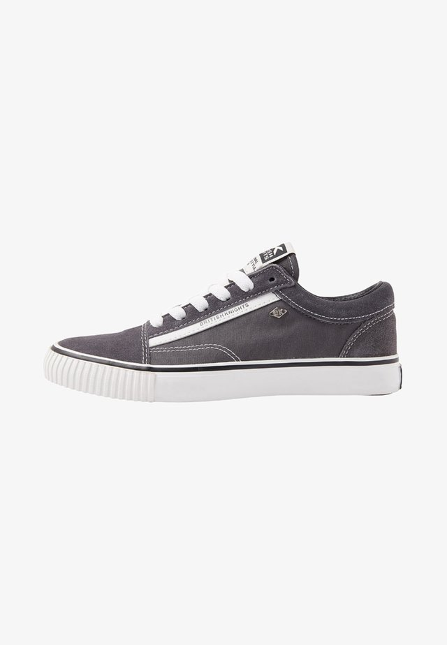 MACK DAMEN - Sneakers - dark grey/white