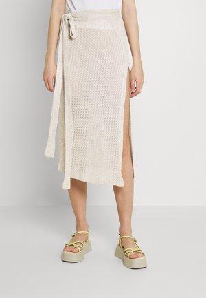 SUMMER DAYS SKIRT - Zavinovací sukně - beige