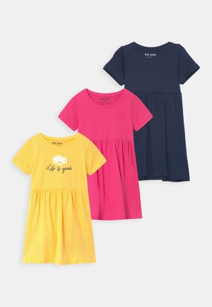 SMALL GIRLS 3 PACK - Vestito di maglina - multi