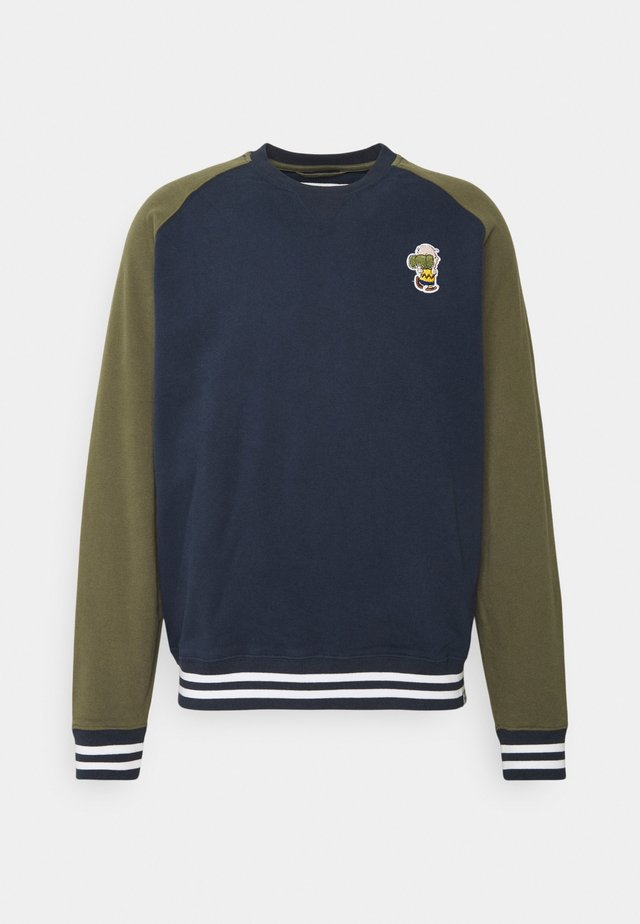 PEANUTS BASEBALL - Sweatshirt - eclipse navy
