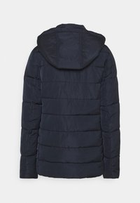 Dorothy Perkins Tall - GLOSSY HOODED JACKET - Talvitakki - navy - 7