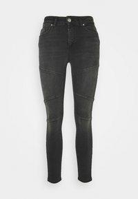 ONLY - ONLBLUSH CUT LIFE - Jeans Skinny Fit - dark grey denim - 4