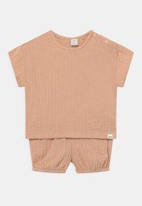 Lindex - BLOOMERS SET UNISEX - Basic T-shirt - beige - 0