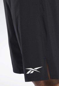Reebok - SPEEDWICK SPEED SHORTS - Pantalón corto de deporte - black - 4