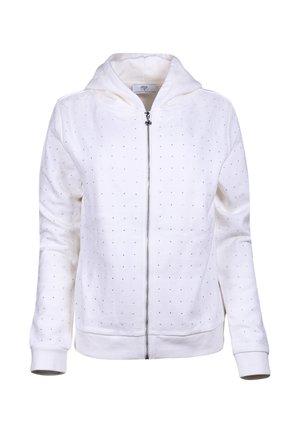 Zip-up hoodie - vanilla