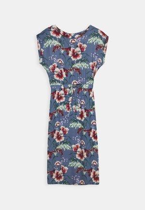 BETTY LOOSE FIT DRESS COLADA - Day dress - bluestone blue