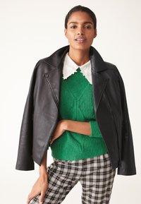 Next - Leather jacket - black - 0