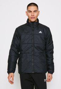 adidas Performance - 3 STRIPES INSULATED JACKET - Vinterjacka - black - 0
