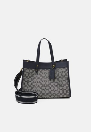 SIGNATURE FIELD TOTE - Handbag - midnight navy