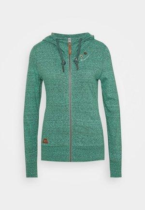 PAYA - Zip-up sweatshirt - green
