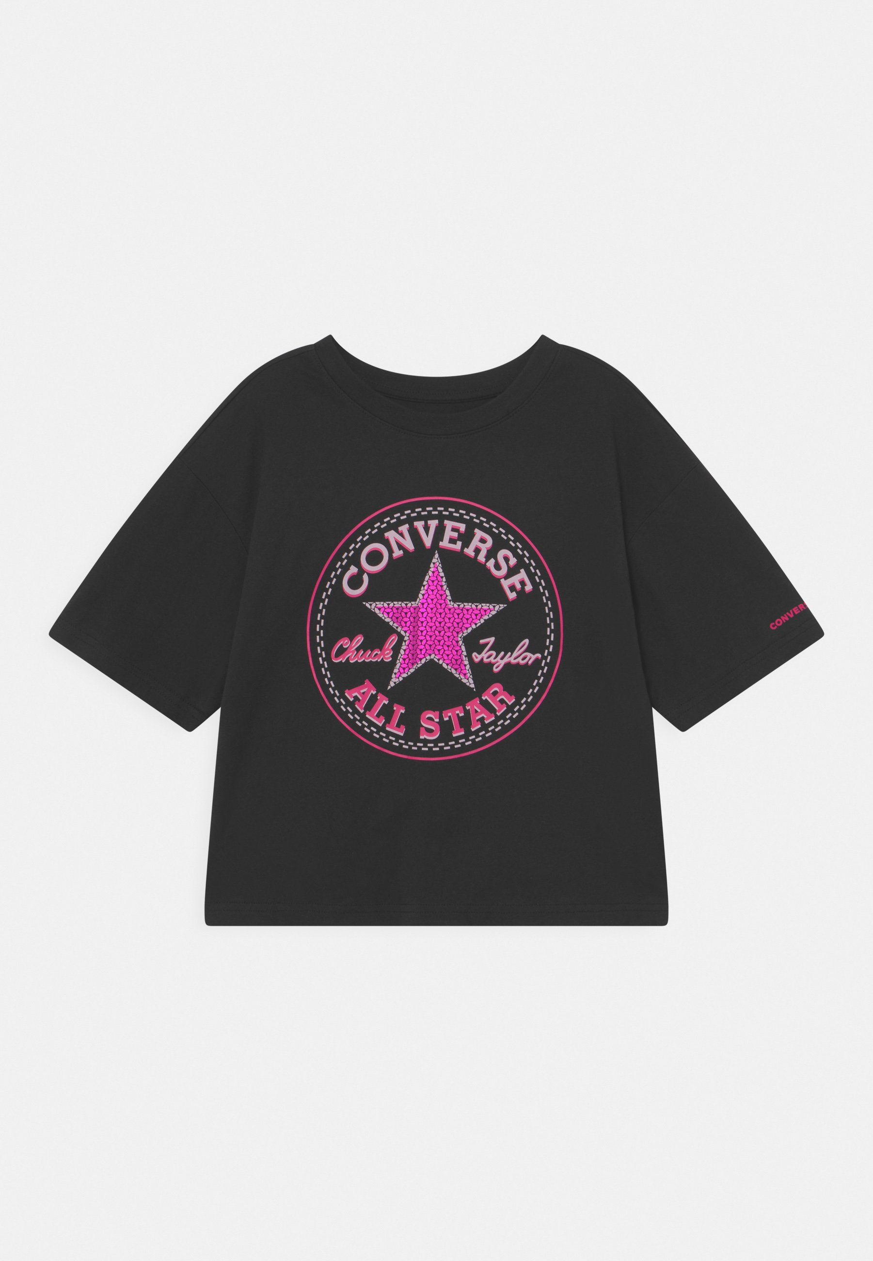 Kinder STAR FLIP SEQUIN BOXY TEE - T-Shirt print