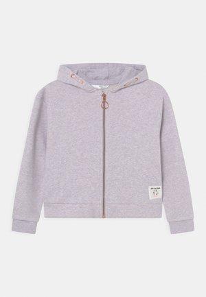 ZIP THROUGH HOODY - Sweater met rits - lilac
