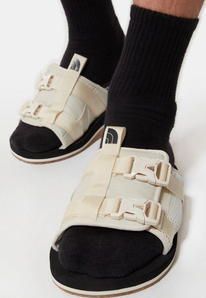 The North Face - M EQBC SLIDE - Walking sandals - vintage white/tnf black