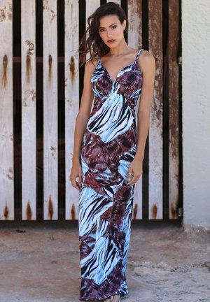 TIZE  - Maxi dress - aqua taupe