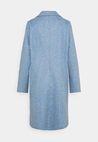 TOM TAILOR DENIM - OPTIC COAT - Classic coat - country blue melange - 1