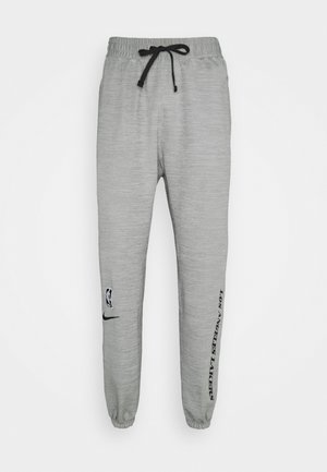 NBA LA LAKERS THERMAFLEX SHOWTIME TUNNELVISION PANT - Club wear - grey heather/black/white
