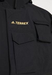 adidas Performance - TERREX XPLORIC RAIN - Outdoorjas - black/black - 7