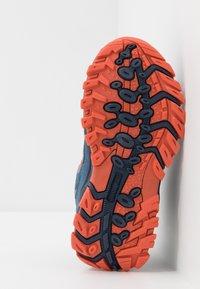TrollKids - KIDS RONDANE HIKER MID - Hiking shoes - mystic blue/orange - 5