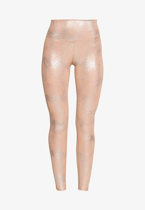 FOIL SNAKE LEGGING - Collants - quartz