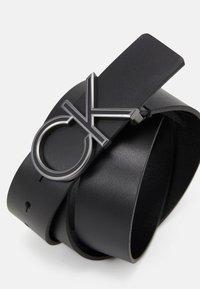 Calvin Klein - ENAMEL  - Belt - black - 2