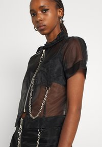 The Ragged Priest - CRYBABY SHIRT - Button-down blouse - black - 3