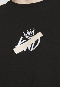 Kings Will Dream - GRINNON TEE - Print T-shirt - jet black - 5