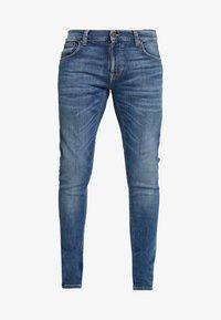 Nudie Jeans - TIGHT TERRY - Jeans Skinny Fit - steel navy - 3