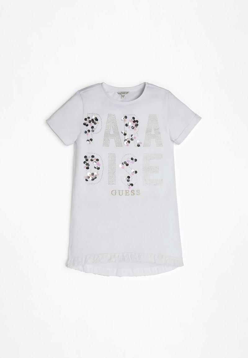 Guess - Basic T-shirt - weiß