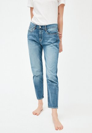 CAJAA - Straight leg jeans - light stone wash