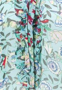 Esqualo - BLOUSE FLOWER GARDEN  - Blouse - green - 2
