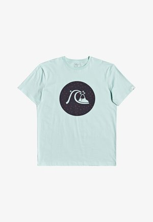JUNGLE BUBBLE  - Print T-shirt - eggshell blue