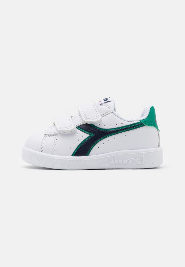 GAME UNISEX - Sportschoenen - white/greenlake