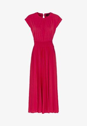 Jersey dress - cyclam