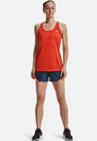 Under Armour - TECH TWIST DAMEN - Sports shirt - orange - 1