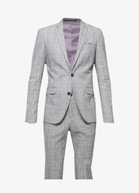 Lindbergh - CHECKED SUIT - Oblek - grey check - 9