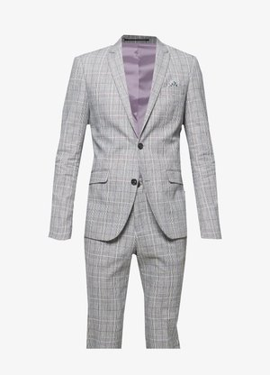 CHECKED SUIT - Kostym - grey check