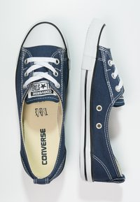 Converse - CHUCK TAYLOR ALL STAR BALLET - Trainers - navy - 1