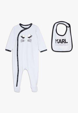 SET BIB BABY - Pyjamas - white