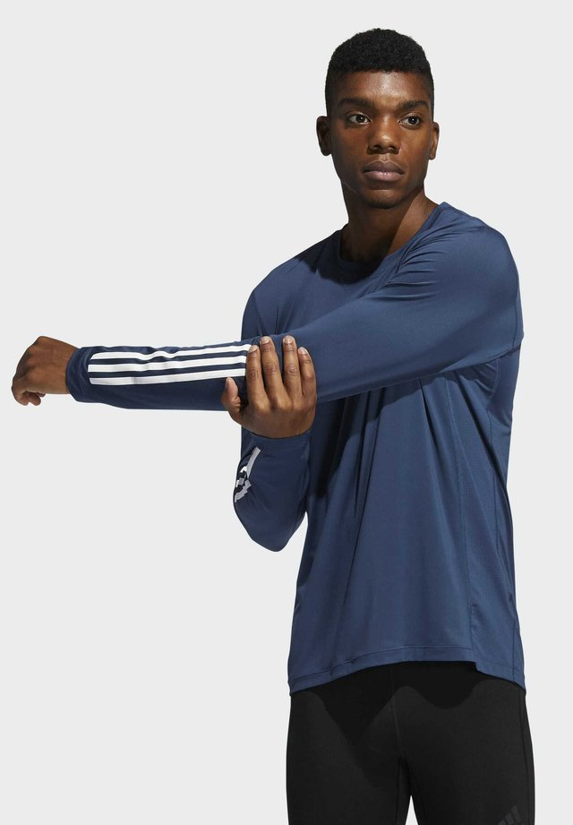 TF LS FT 3S - Long sleeved top - blue