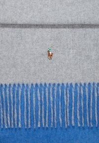 Polo Ralph Lauren - SIGN SCARF - Szal - grey/blue - 2