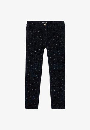 Straight leg jeans - marine bedruckt
