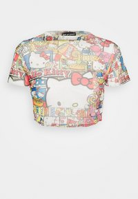 NEW girl ORDER - HELLO CROP TEE - Camiseta estampada - multicoloured - 0