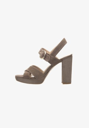 High heeled sandals - talpa
