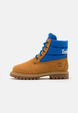 PREMIUM UNISEX - Bottines à lacets - wheat/blue