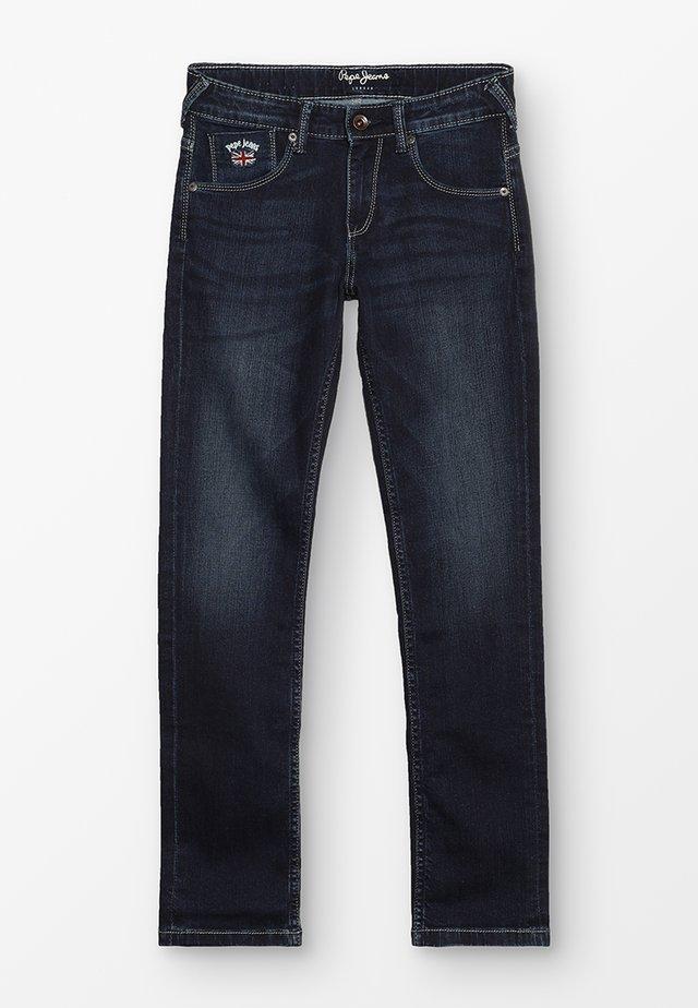 EMERSON - Vaqueros slim fit - dark-blue denim