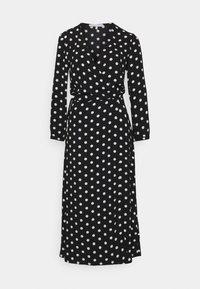 TRUE VIOLET  - Day dress - black/ivory spot