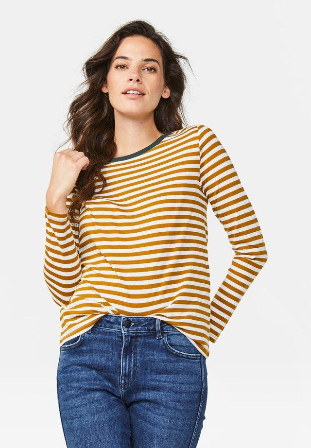 Pitkähihainen paita - mustard yellow